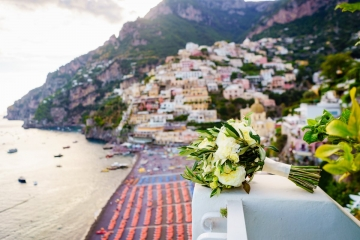 A fabulous wedding with unforgettable views